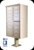 1570-13 Florence vital™ 13 Door USPS Approved Cluster Box with Pedestal