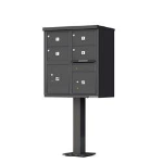 1570-4T5-DB Florence Cluster Mailbox 4 Door CBU Unit