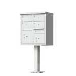 1570-4T5PG Florence vital™ 4 Door Cluster Mail Box