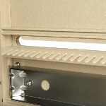 1570-4T5 4 Door USPS Approved Cluster Mailbox Mail Slot