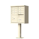 1570-12-SD 12 Door Outdoor Commercial Cluster Mailbox CBU Unit
