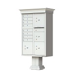 8-Door Decorative Outdoor Cluster Mailboxes