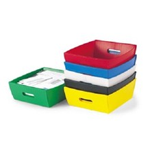 "13.5"" Corrugated Plastic Mail Trays"