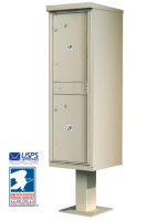 1590-T1 Outdoor Parcel Package Locker Mailbox