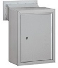 Collection Box Receptacle for Mail Drop Slot