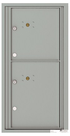 Versatile ™ 4C Mailbox – 9-Doors High – 2 Parcel Lockers
