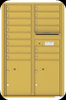 Gold Speck 4C13D-14 Thirteen Door High Fourteen Tenant 4C Mailbox
