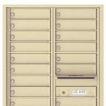 Standard 4C Multi Unit Apartment Mailbox 15