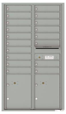 18 Door 4c Horizontal Mailbox Versatile 4c15d 18 2