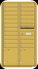 Gold Speck 4C16D-19 Florence Horizontal Wall Mounted 4C USPS Approved Mailbox