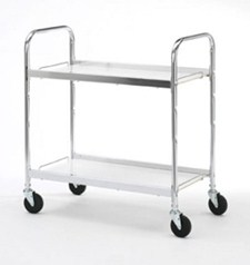 Medium Two Shelf Utility Cart #B106