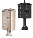 Decorative USPS Approved Cluster Box Units