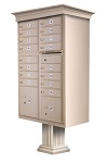 Classic Style Decorative Cluster Box Unit Mailboxes