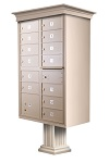13 Door Decorative Cluster Box Unit
