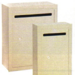 Recess Mounted Letter Drop Boxes in Sandstone