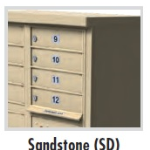 8 Door USPS Approved Cluster Box Sandstone