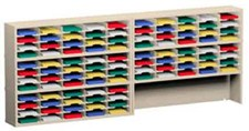 120 Inch Mail Sorters with 100 Pockets and a Half Riser #P153