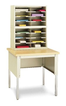 Mail Sorter with table