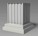Pillar Pedestal Cover