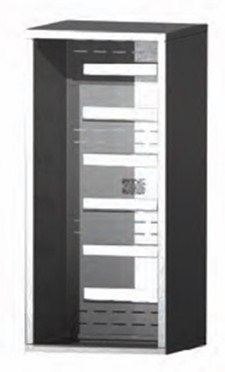 Versatile ™ 4C Surface Mount Collar - 14-Doors High - Single Column