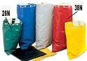 "26"" Colored Vinyl Mail Bags for Mailrooms"