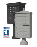 Decorative USPS Approved Cluster Mailbox Units