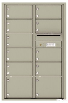 Versatile ™ 4C Mailbox – 13-Doors High – 11 Mailboxes (Private Use)