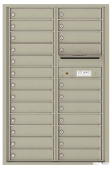 Versatile ™ 4C Mailbox – 13-Doors High – 24 Mailboxes (Private Use)