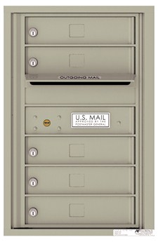 7-Door High USPS-Approved Mailboxes