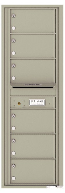 Versatile ™ 4C Mailbox – 14-Doors High – 6 Mailboxes (Private Use)