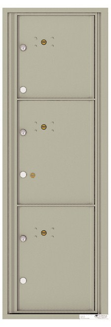 Versatile ™ 4C Mailbox – 14-Doors High – 3 Parcel Lockers