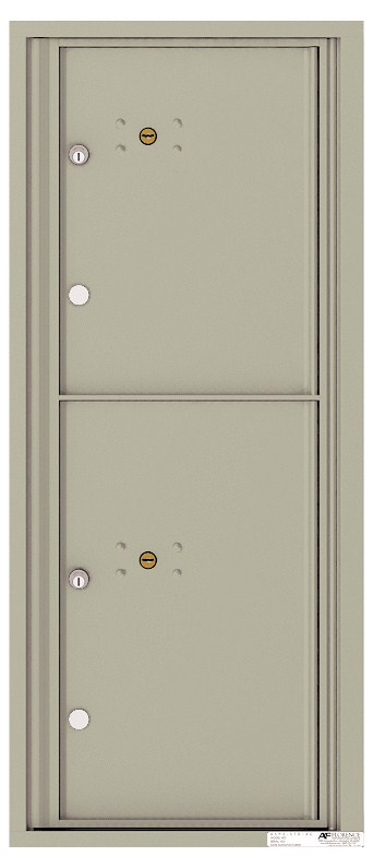 Versatile ™ 4C Mailbox – 11-Doors High – 2 Parcel Lockers