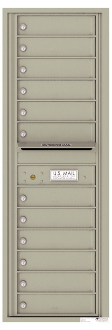 Versatile ™ 4C Mailbox – 14-Doors High – 12 Mailboxes (Private Use)