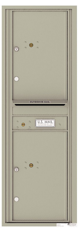 Versatile ™ 4C Mailbox – 14-Doors High – 2 Parcel Lockers