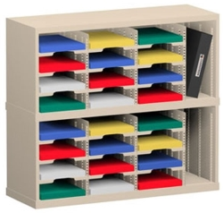 Mail Sorters with Custom Compartments and Slots