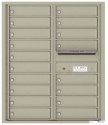 4C Horizontal Mailboxes for USPS Delivery