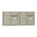 Commercial 4C Horizontal Mailboxes
