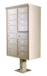 Cluster Mailboxes   USPS Approved Outdoor Pedestal CBU Mail Box