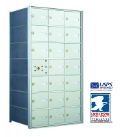 USPS Approved Indoor 4B+ Horizontal Mailboxes
