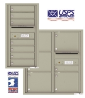 USPS Approved Indoor 4C Horizontal Mailboxes