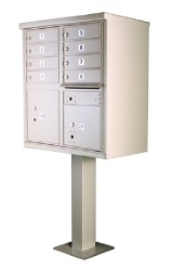 USPS Approved 8 Door Cluster Mailbox