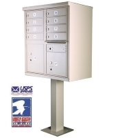 USPS Approved Cluster Mailbox Units