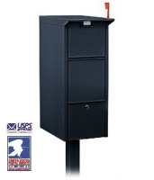USPS Approved Pedestal Mounted Mail Package Drop Box
