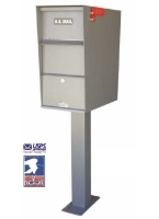 USPS Approved Residential Locking Pedestal Mailboxes