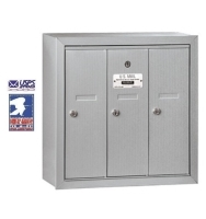 USPS Approved Indoor Wall Mounted Vertical Mailboxes